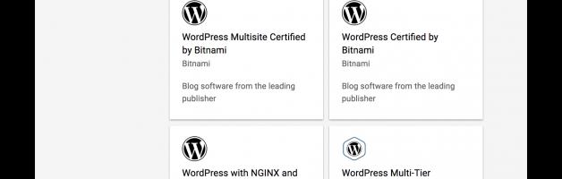 升級/轉移 WordPress in GCP marketplace